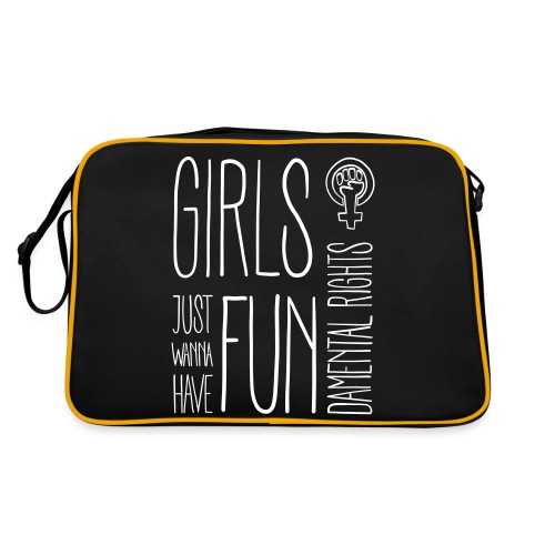 Girls just wanna have fundamental rights - Retro Tasche
