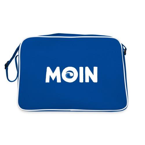 Moin Welle Ahoi Meer maritim Geschenk - Retro Tasche
