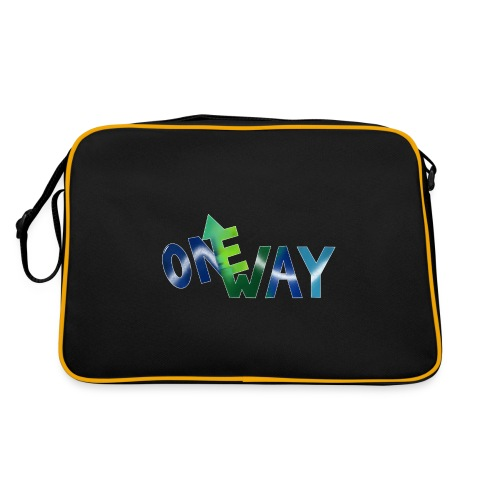 One Way - Retro Tasche