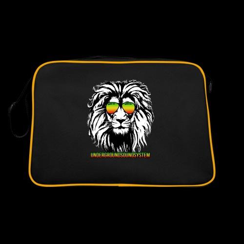 RASTA REGGAE LION - Retro Tasche