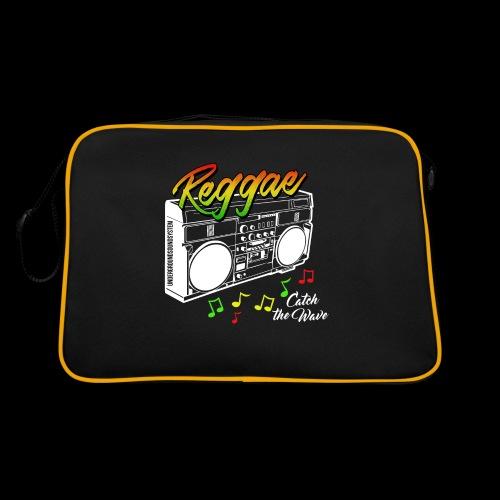 Reggae - Catch the Wave - Retro Tasche