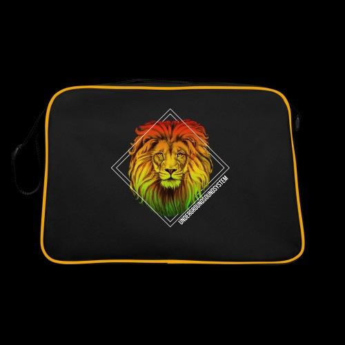 LION HEAD - UNDERGROUNDSOUNDSYSTEM - Retro Tasche
