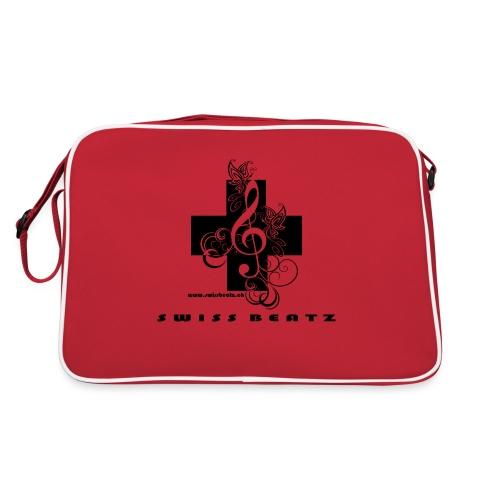 Swiss Beatz Logo with L - Retro Tasche