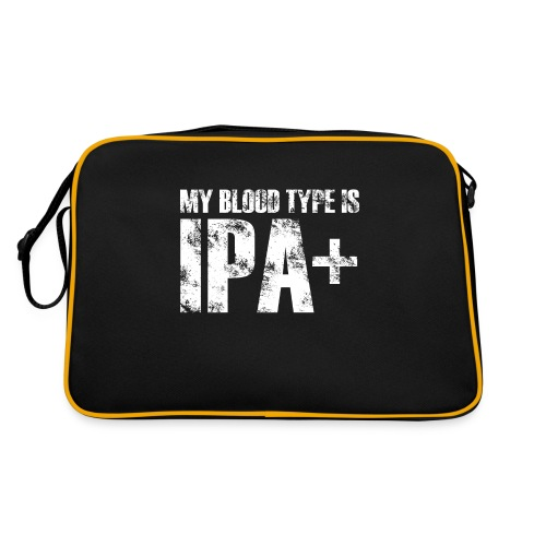 My Blood Type Is IPA Plus - Torba retro