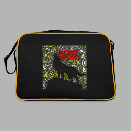 Lone Wolf - Retro Bag