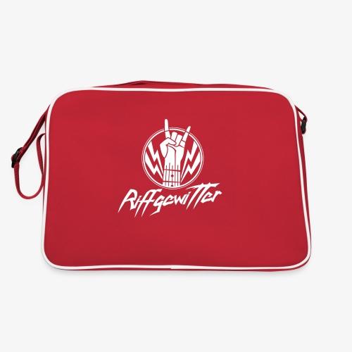 Riffgewitter - Hard Rock und Heavy Metal - Retro Tasche