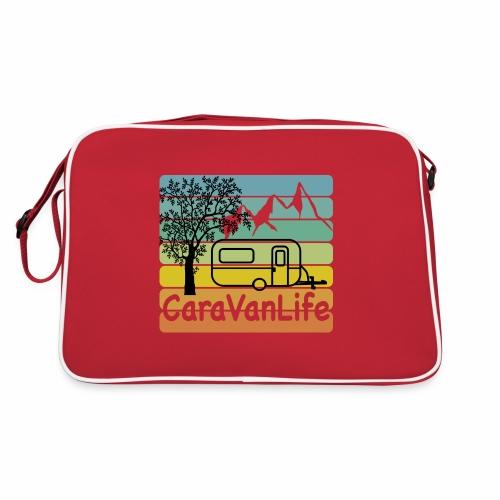 caravan life - Retro Tasche