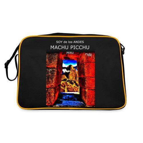 SOJA de los ANDES - Machu Picchu II - Retro Tasche