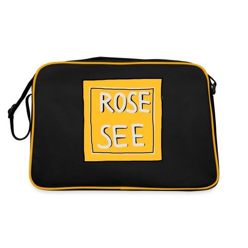 Logo voor druk op textiel - Retro-tas