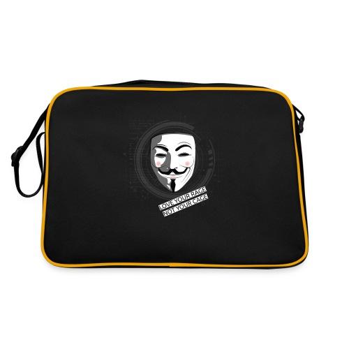 Anonymous Love Your Rage - Retro Bag