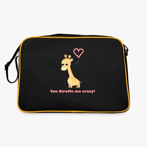 Giraffe Me Crazy - Retro taske