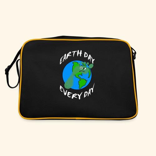 Earth Day Every Day - Retro Tasche