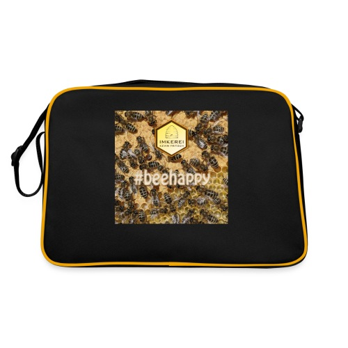 beehappy - Rettet die Bienen - Save our earth - Retro Tasche