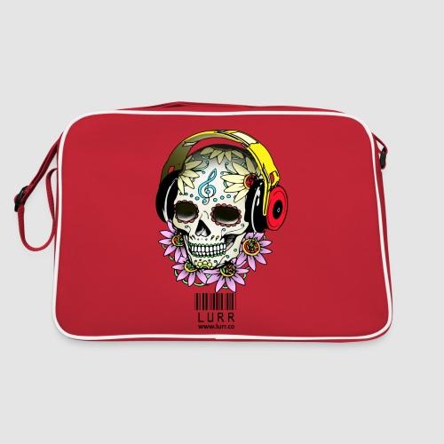smiling_skull - Retro Bag