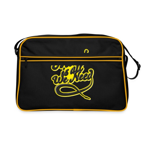 Music Is All We Need - Retro Bag