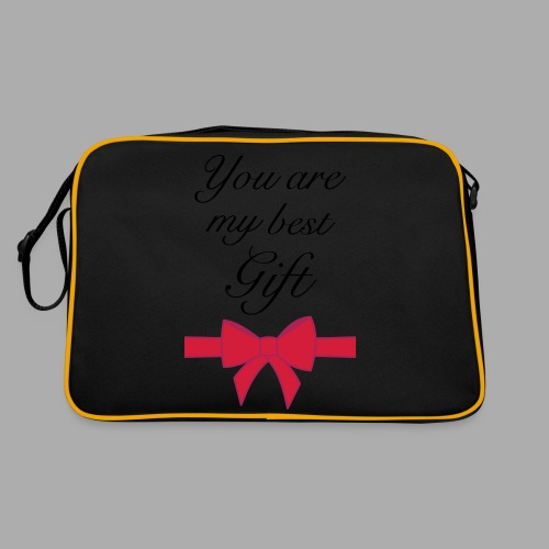 you are my best gift - Retro Bag