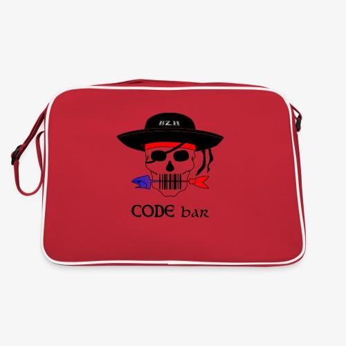 Code Bar couleur - Sac Retro