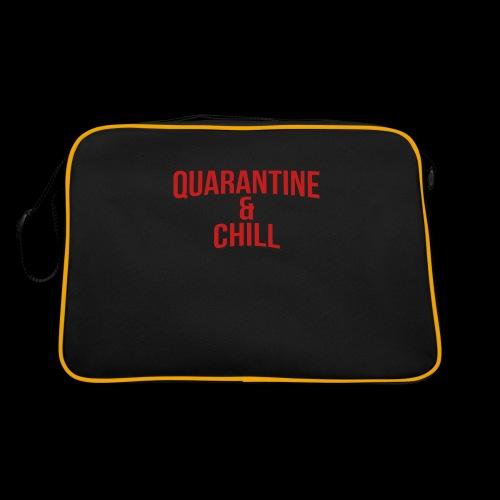 Quarantine & Chill Corona Virus COVID-19 - Retro Tasche