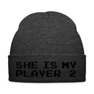 She is my player 2 - Czapka zimowa