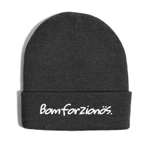 Bomforzionös schwarz einzeilig - Wintermütze