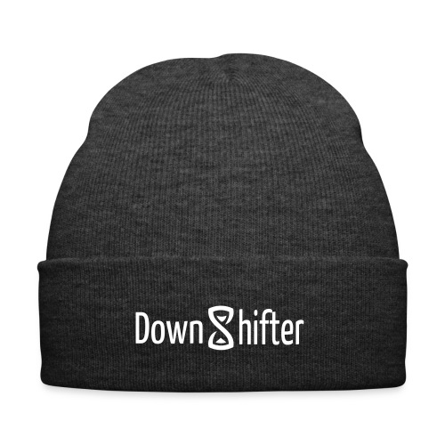 downshifterlogo - Wintermütze