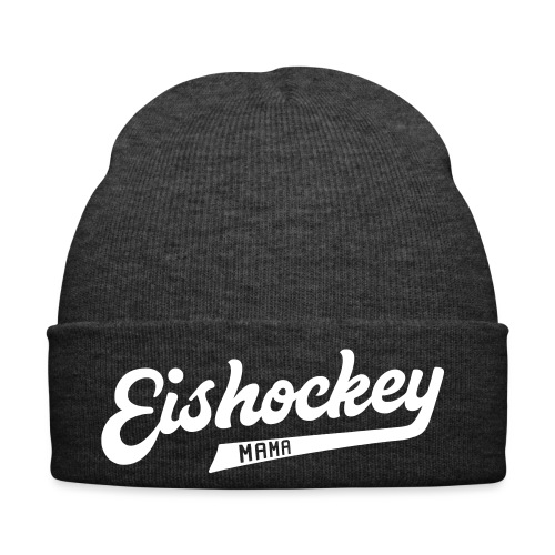 Eishockey Mama, Hockey Mum Sports Style Text - Winter Hat