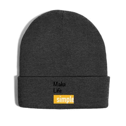 Make Life Simple - Bonnet d'hiver