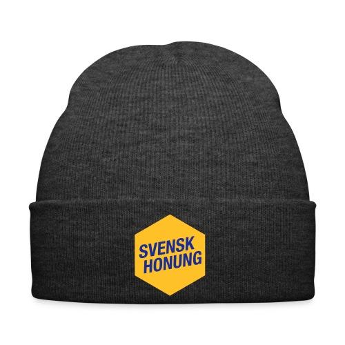 Svensk honung Hexagon Gul/Blå - Vintermössa