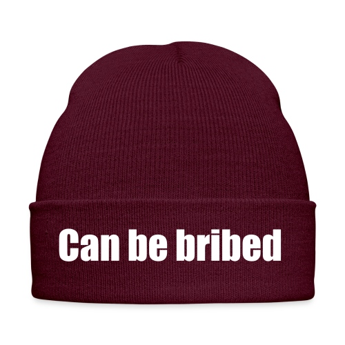 can be bribed - Winter Hat