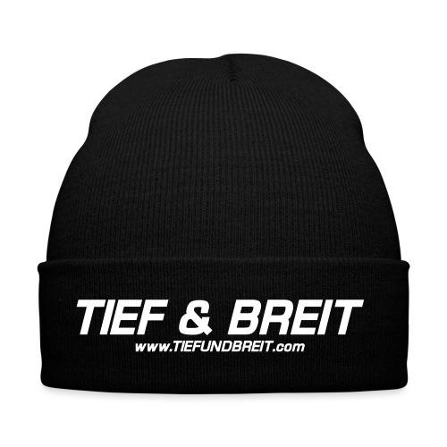 Tief & Breit Logo vector - Wintermütze