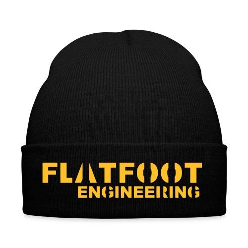 FlatFootLogo - Vintermössa