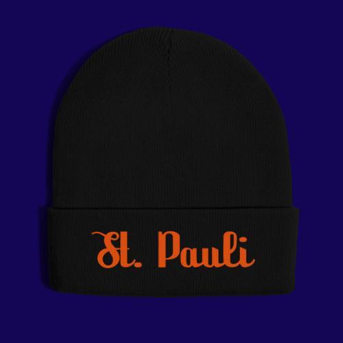 St. Pauli Logotype: Dein Kieztour Begleiter - Wintermütze