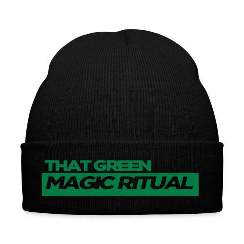that GREEN MAGIC RITUAL clothing striplogo - Wintermütze