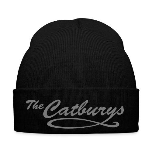 catburys logo vektor schriftzug weiss - Wintermütze