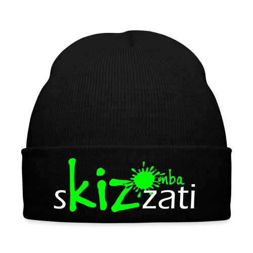 Beanie in jersey con logo sKizzati Kizomba - Verde - Cappellino invernale