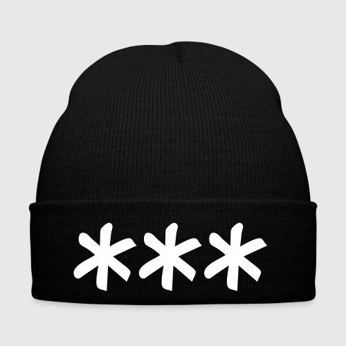 Star Brushed Horizontal - Winter Hat