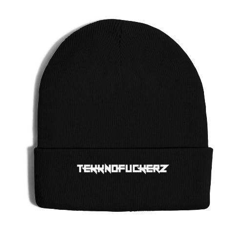 Tekknofuckerz Weiss - Wintermütze