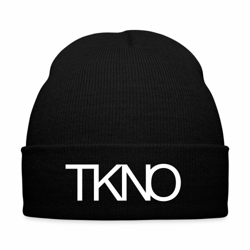 TKNO MNML Techno Minimal dark Tekkno Rave Kind - Wintermütze