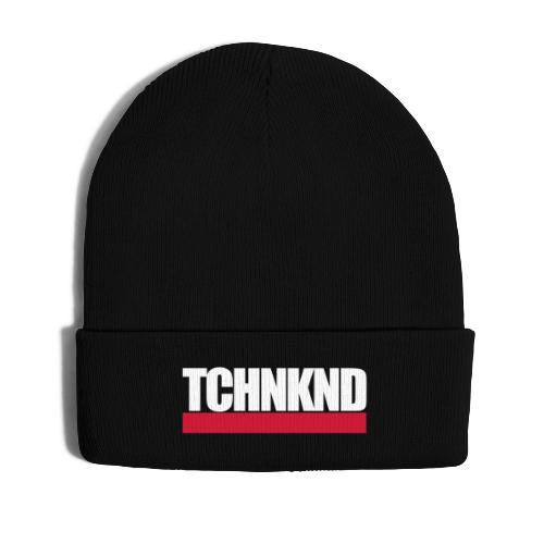 TCHNKND Technokind MNML Schriftzug - Wintermütze