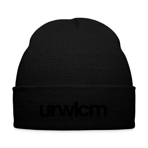 urwlcm rz vollflaeche schwarz - Wintermütze