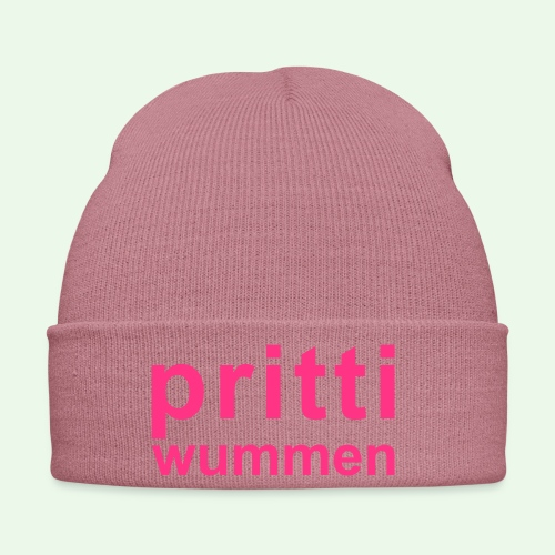 pritti wummen // pretty woman // girl power - Wintermütze