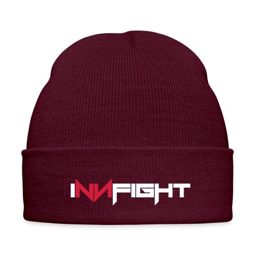 Innfight logo redblack - Wintermütze