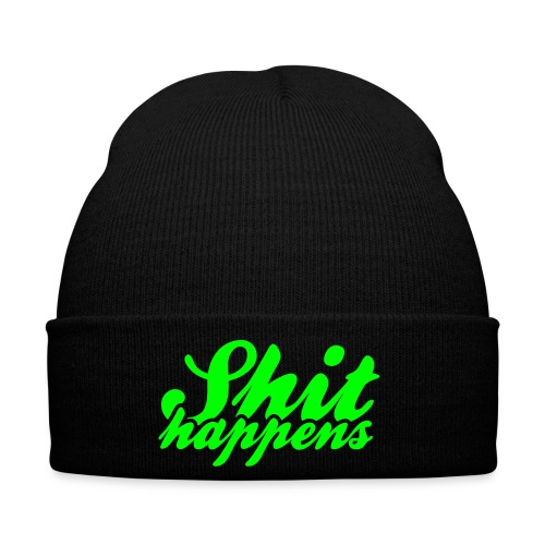 Shit Happens and Politics - Winter Hat