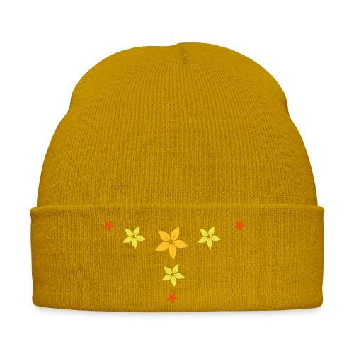 flower, star - Wintermütze