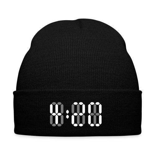 420 Clock Digital Uhr 4:20 Cannabis Hanf Kiffen - Wintermütze