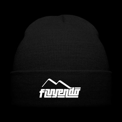 fluyendo logo BIANCO - Winter Hat