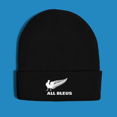all_bleus_logo_white - Bonnet d'hiver