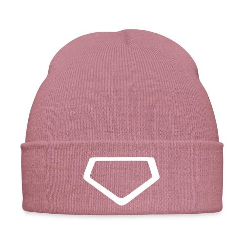 Baseball Homeplate Outline - Winter Hat