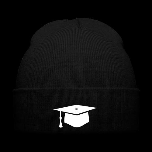 einfacher Doktorhut - Geschenk zur Doktorarbeit - Wintermütze