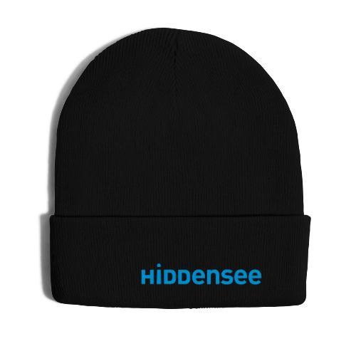 Hiddensee Schriftzug - Wintermütze